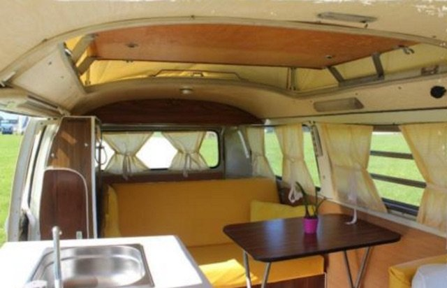 T2a Camper Ausstattung nachgebildet