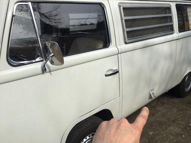 VW Bus T2 Campingstromanschluss