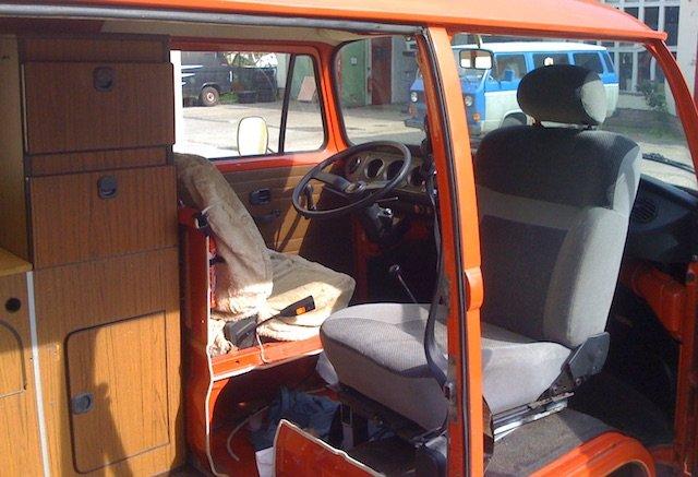 VW Bus T2 Feuerwehr restaurieren