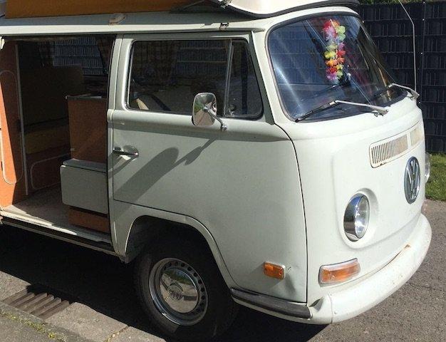 VW Bus T2 Lackierung Fachbetrieb