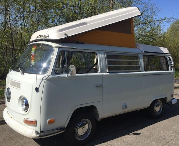 VW Bus T2a lackieren Beratung