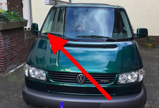 VW Bus T4 Dieselfahrverbot ab 2018