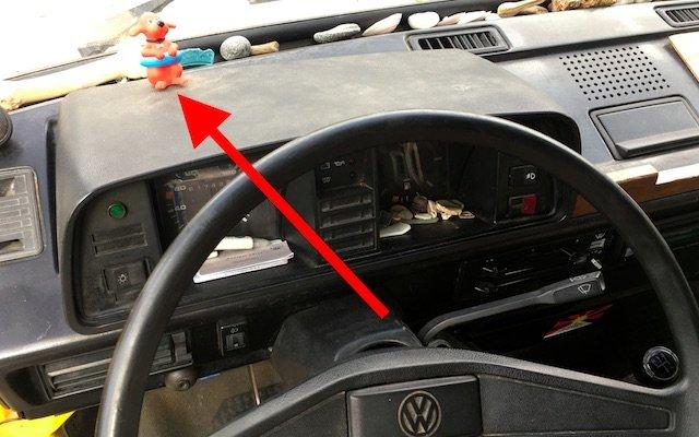 T3 Fernlichtkontrolle instand setzen VW Bus Checker