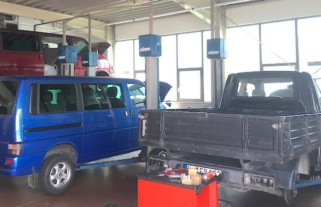 VW Bus Spezialist Enrico Nagy empfiehlt Werkstaetten