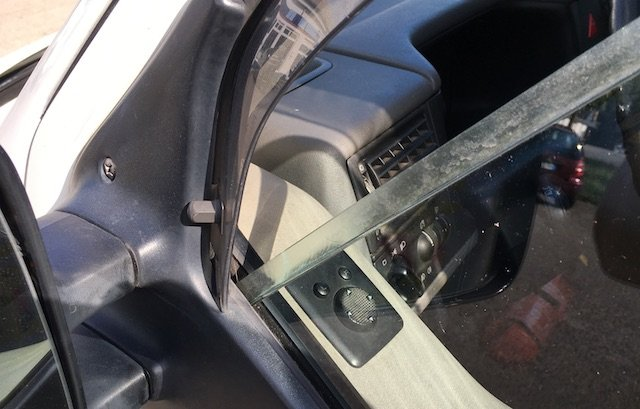 VW Bus T4 Seitenscheibe Plexiglas