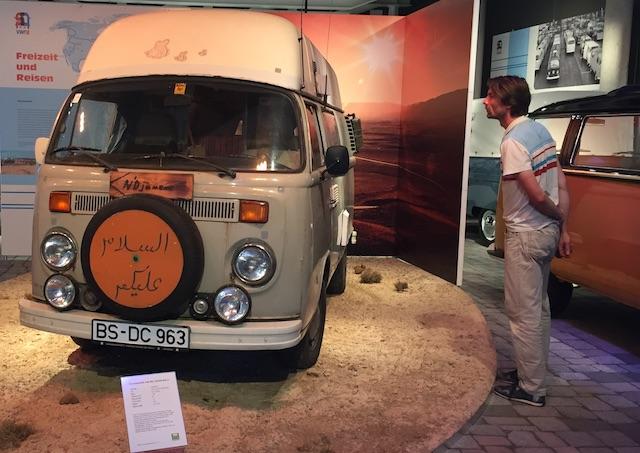 T2 Weltreise Leihgabe Ehepar Laue zur Sonderausstellung VW Bus T2 PS Speicher Einbeck