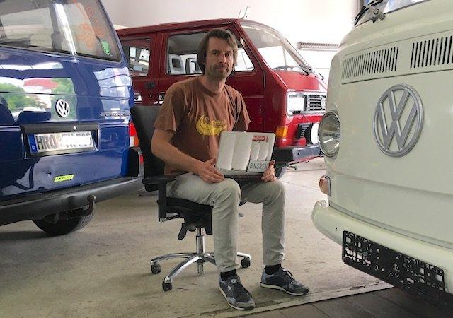 VW Bus Fachberater Gutachter Enrico Nagy