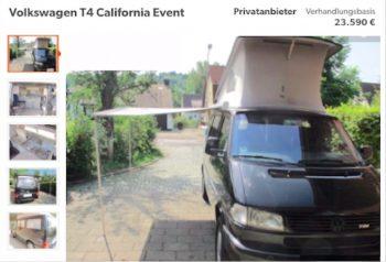 T4 California wir kaufen Dein Auto