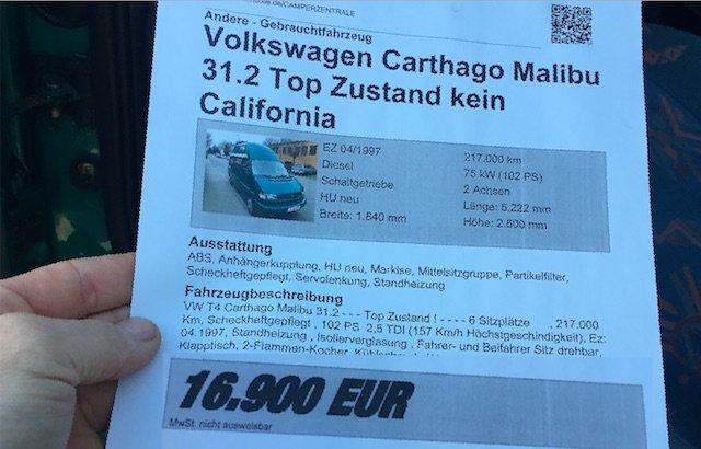 VW Bus Spezialist Camperzentrale Stuttgart