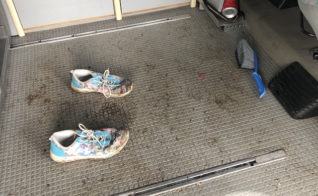 Fussboden im VW Bus T3 Syncro sollte Robust sein