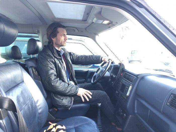 Kopffreiheit Schiebedach VW Bus T4 überm Fahrer