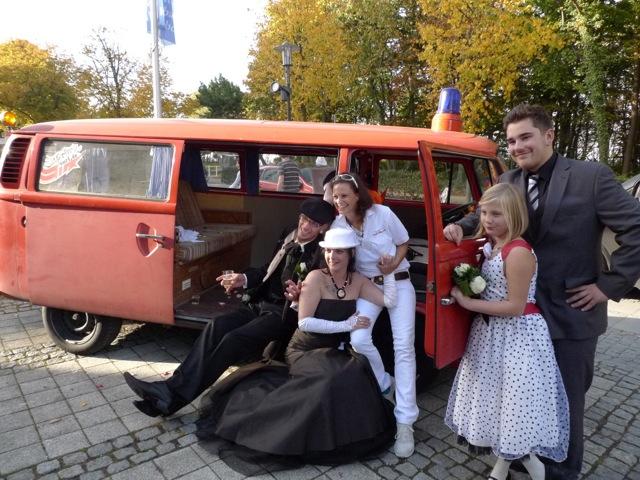 Hochzeit im VW Bus mieten beim BusChecker