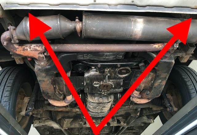 VW Bus T2 Abschlussblech neu einschweissen