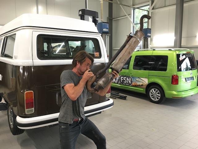 VW Bus T2 Karosseriereparatur beim VW Partner Empfohlen vom BusChecker