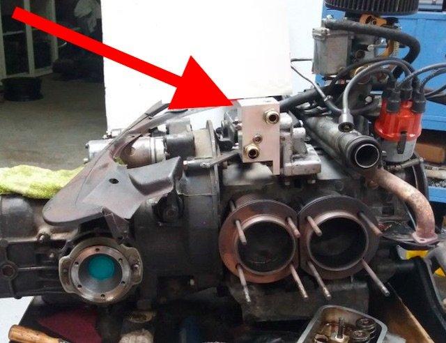 Adapter für Zusatzölkühler statt Seriellem Ölkühler von VW VORSICHT DEFEKT TUNING !