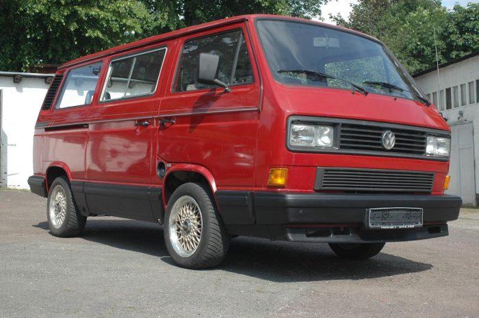 BBS Felge Breitreifen VW Bus T3 Freigabe TUEV BusChecker