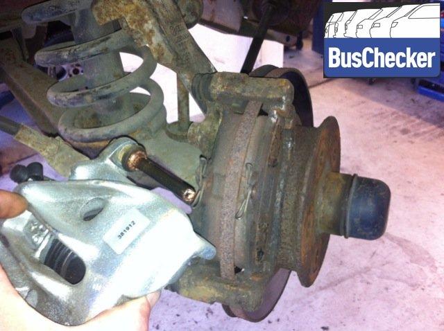 Bremszange VW Bus T3 Bremssattel neu