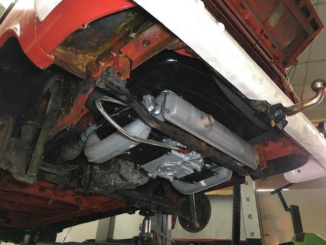 Bypass Ölpumpe VW Bus T2 Motor