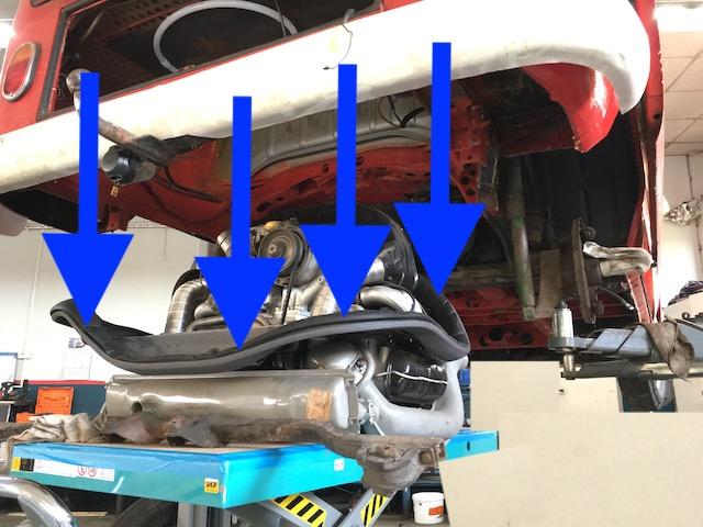 Dichtung Motorraum Schaumband T2