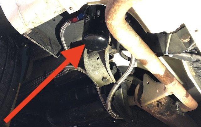Ölfilter im VW Bus T2 mit Zusatzölkühler