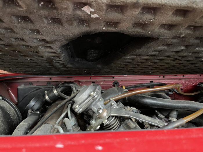 T3 1.9 TD Abdeckung Motorraum angepasst
