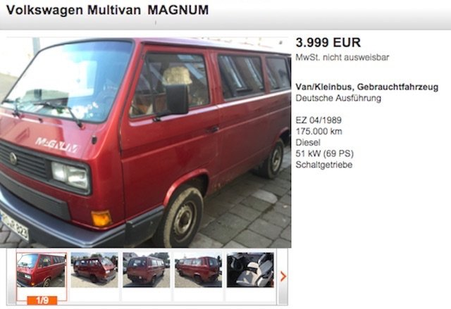 T3 Multivan Kaufberatung Berlin II