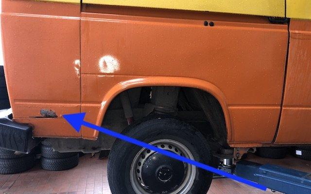 Restauration Rost raus VW Bus welche Farben