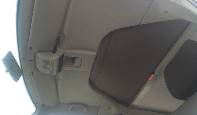 T4 California Matratze oben vor ziehen zur Reduzierung Fahrtwindgeräusche FaltDach