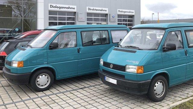 VW Bus T4 California Serie I mit 1.9 TD oder 2.4 D Motor