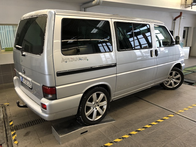 Pheatonfelgen VW Bus T4 Gutachten