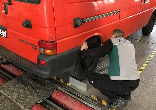 Räder Reifen Vw Bus Tüv gut beraten mit dem BusChecker