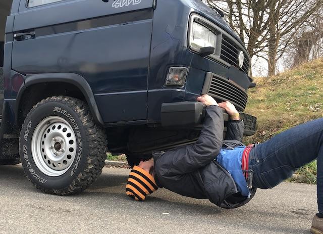 T3 Syncro extrem grosse Reifen 16 Zoll TEST