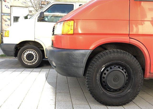 VW Bus günstig Fahrwerk hoch legen Erfahrungen TÜV