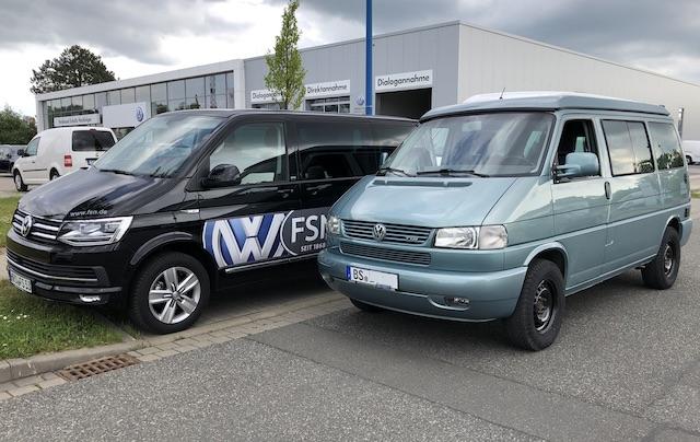 Vw Bus satte Optik gibt auch beim VW Partner