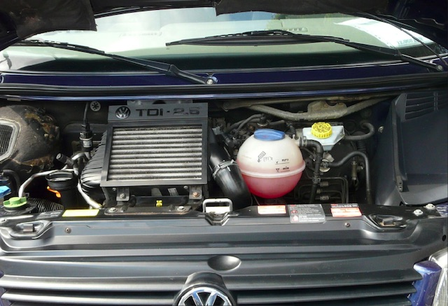 1a Motorraumbilder VW Bus T4 guter Gebrauchter ?