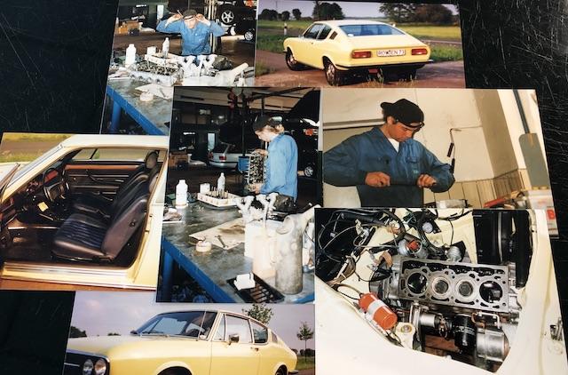 Enrico Nagy VW Mechaniker Azubi Autohaus Brehmer Selsingen 1993