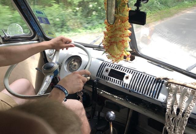 VW Bus T1 Probefahrt BusChecker
