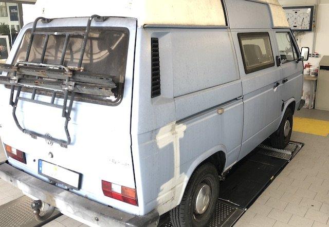 VW Bus T3 Angebote prüfen in Fachwerkstatt