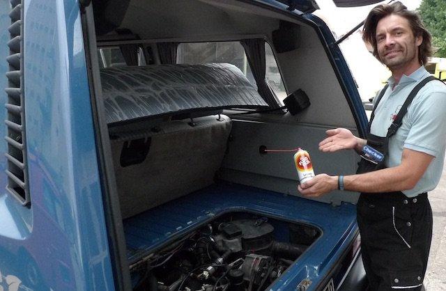 BusChecker empfiehlt Fluid Film im Service