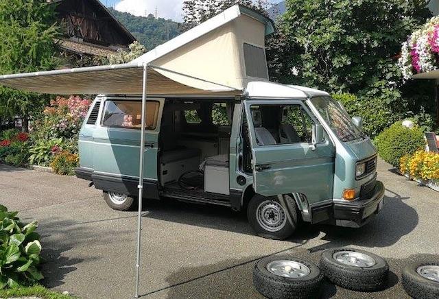 Dachzelt VW Bus T3 gut erhalten Westfalia Atlantik kaufen