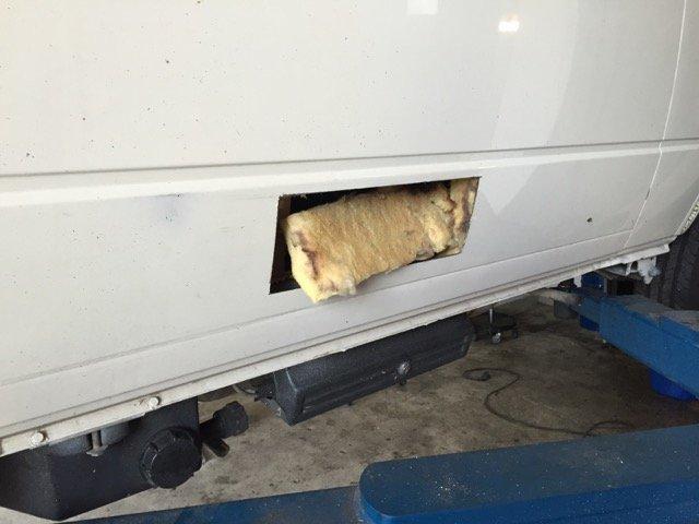 Entlüftung Kühlschrank VW Bus T3 nachrüsten