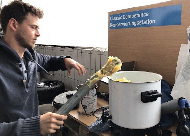 Mike Sanders Verrbeitungsstation classic competenc cener Rostock BusChecker