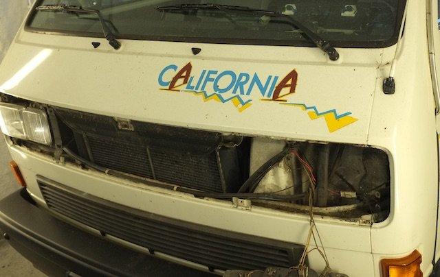 Schriftzug California VW Bus T3 schlechte Qualität nicht original