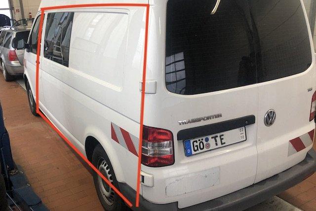 Seitenteil VW Bus T5 ohne Karosserienähte