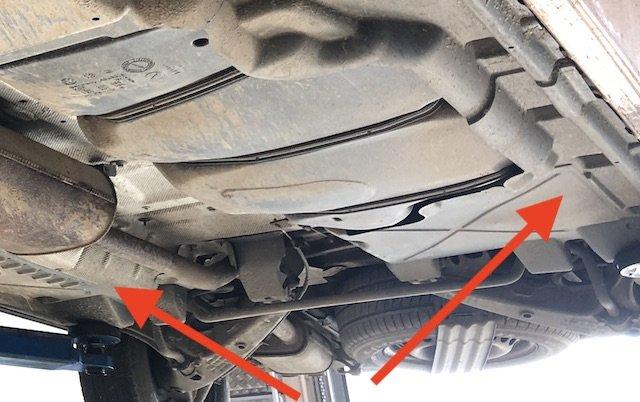 T5 Verkleidungen Unterboden senken den Kraftstoffverbrauch