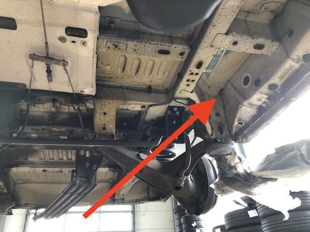 Transporter T5 Achsaufnahme hinten