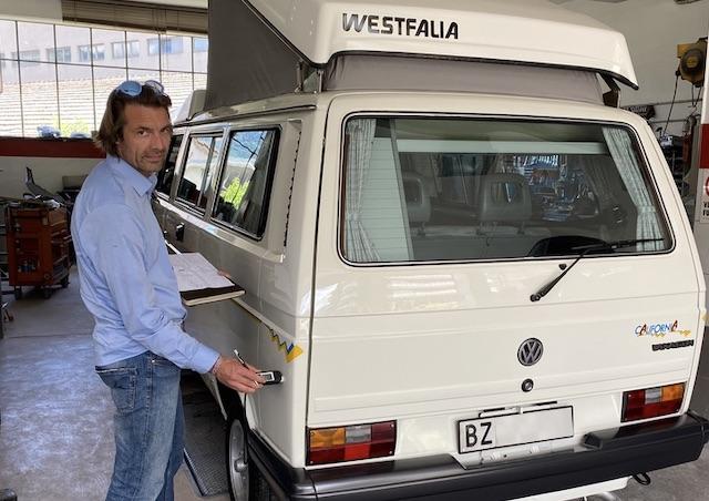 VW Bus Sachverstaendiger BusChecker Enrico Nagy
