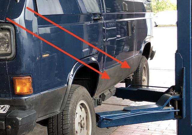 VW Bus T3 Karosse prüfen Erfahrungen BusChecker