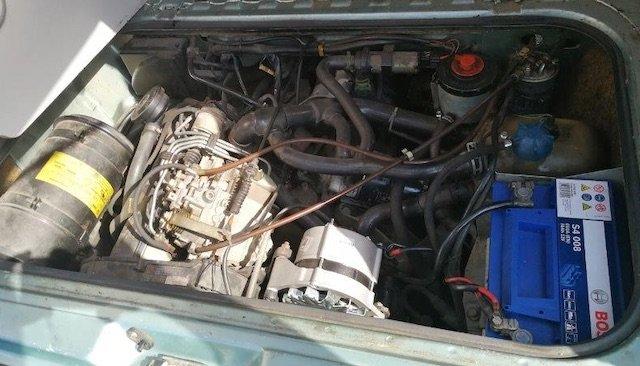 VW Bus T3 Motorraum gut erhalten Tip BusChecker