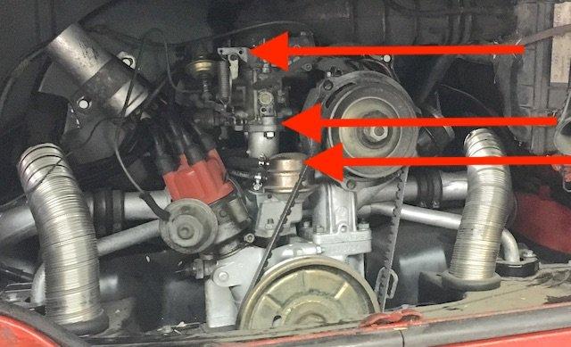 heimlich werden Ersatzteile hin und her getauscht VW Bus Werkstatt VORSICHT